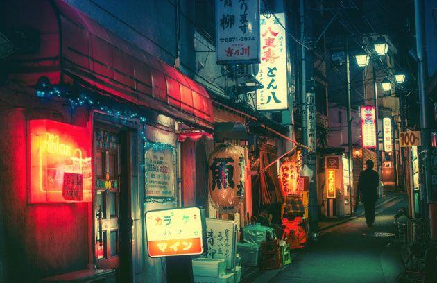情緒あふれる日本のネオン街や夜の街の風景を写しだしたフォトシリーズ | DesignWorks デザインワークス