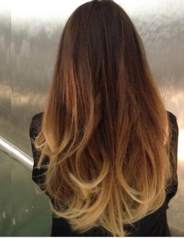 Asian ombre hair ombre hair trend hair color - Ombre hair technique ...