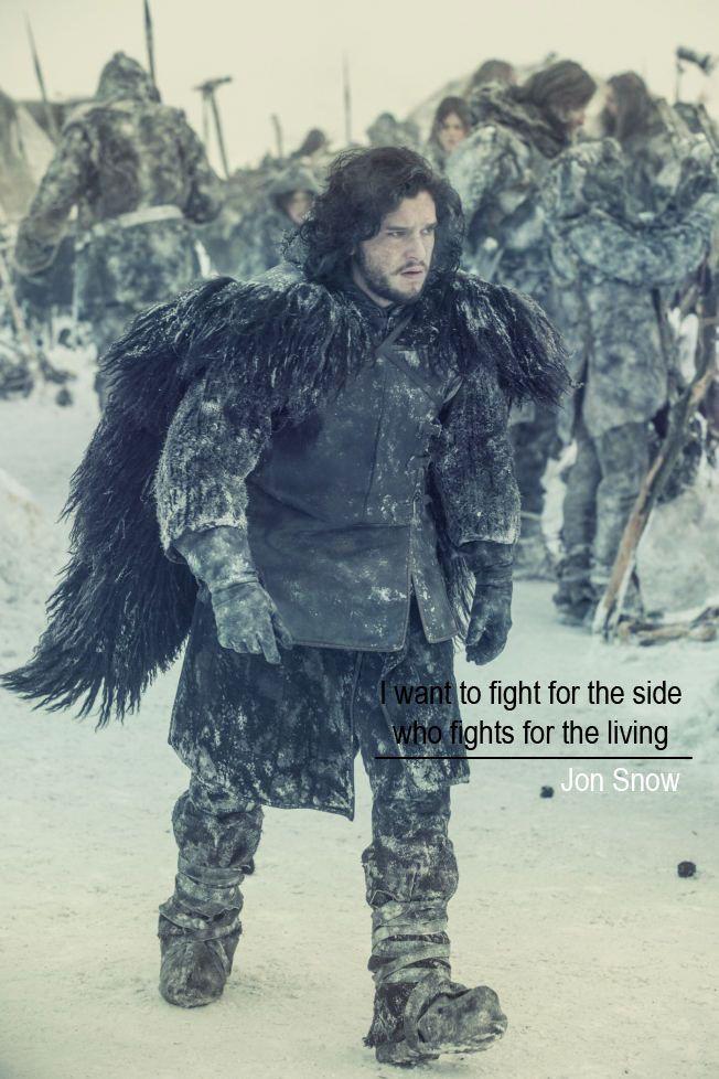 jon snow #gameofthrones Game Of Thrones Season 3 Jon Snow quotes #crow #blackbrother