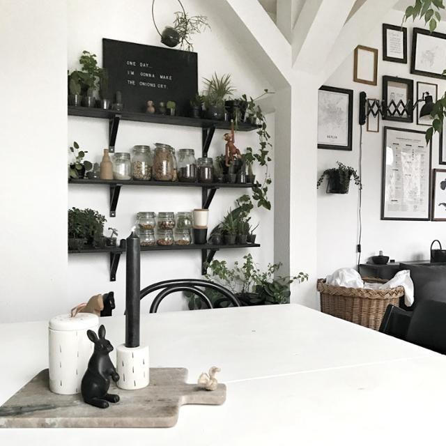 Die besten 25+ schwarze Regale Ideen auf Pinterest schwarz-weiße - wohnen schwarz wei