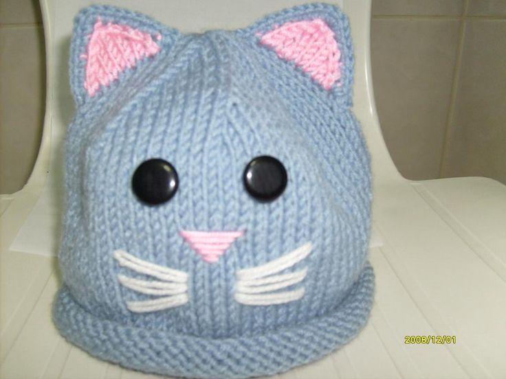 Kedi figürlü bebek şapkası modeli yapılışı (anlatımlı) – Örgü, Örgü Modelleri, Örgü Örnekleri, Derya Baykal Örgüleri