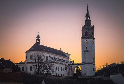 Sun set in Litomerice