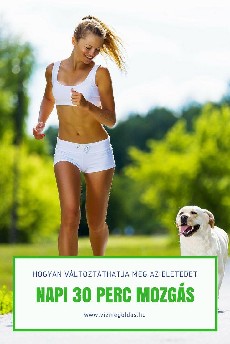 Egészséges életmód - napi 30 perc mozgás
