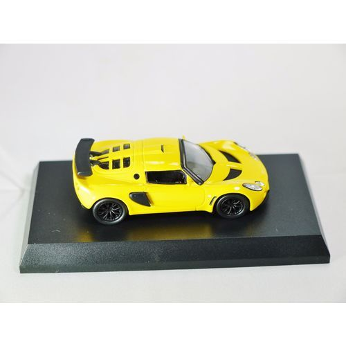1/64 Kyosho British Car Miniature Car Collection Lotus Exige Yellow Die-cast