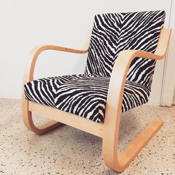 #artek402 #nojatuoli #verhoilu #reupholstery #artek #finnishdesign #verhoomovanhanviehätys
