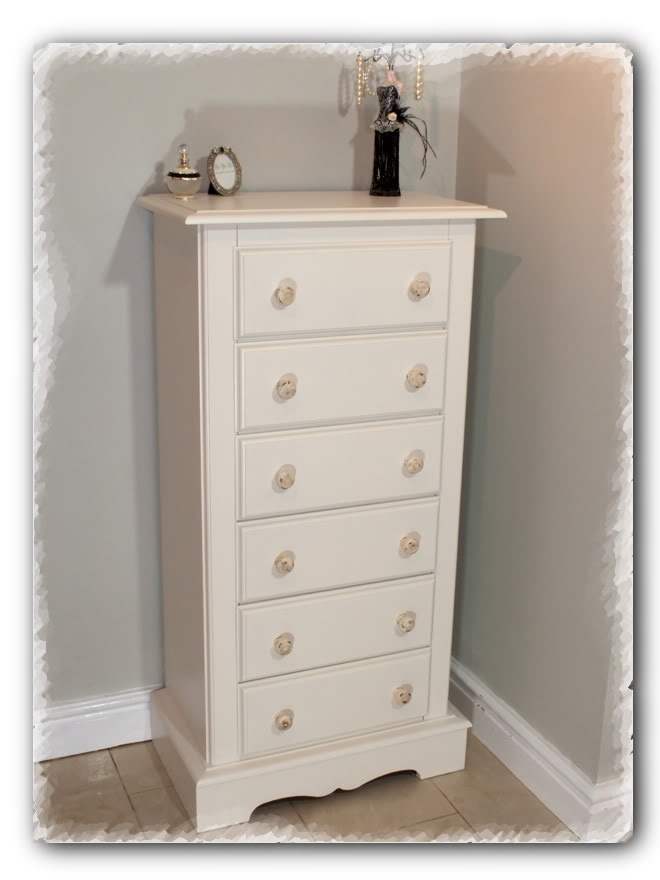 Shabby Chic Tall Chest Of Drawers Www Chicmouldings Com