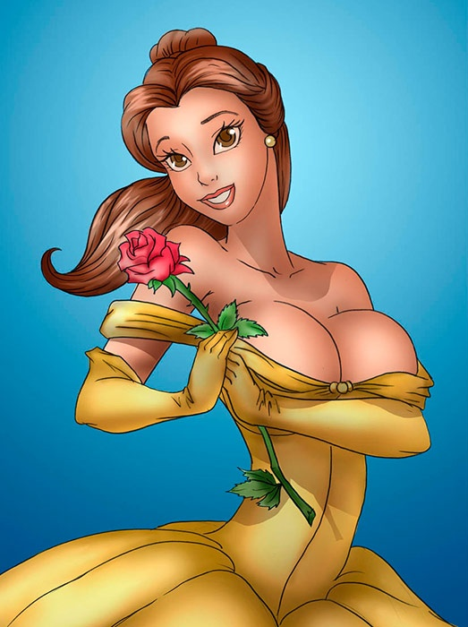 Correct belle and ariel comic erotic good rider