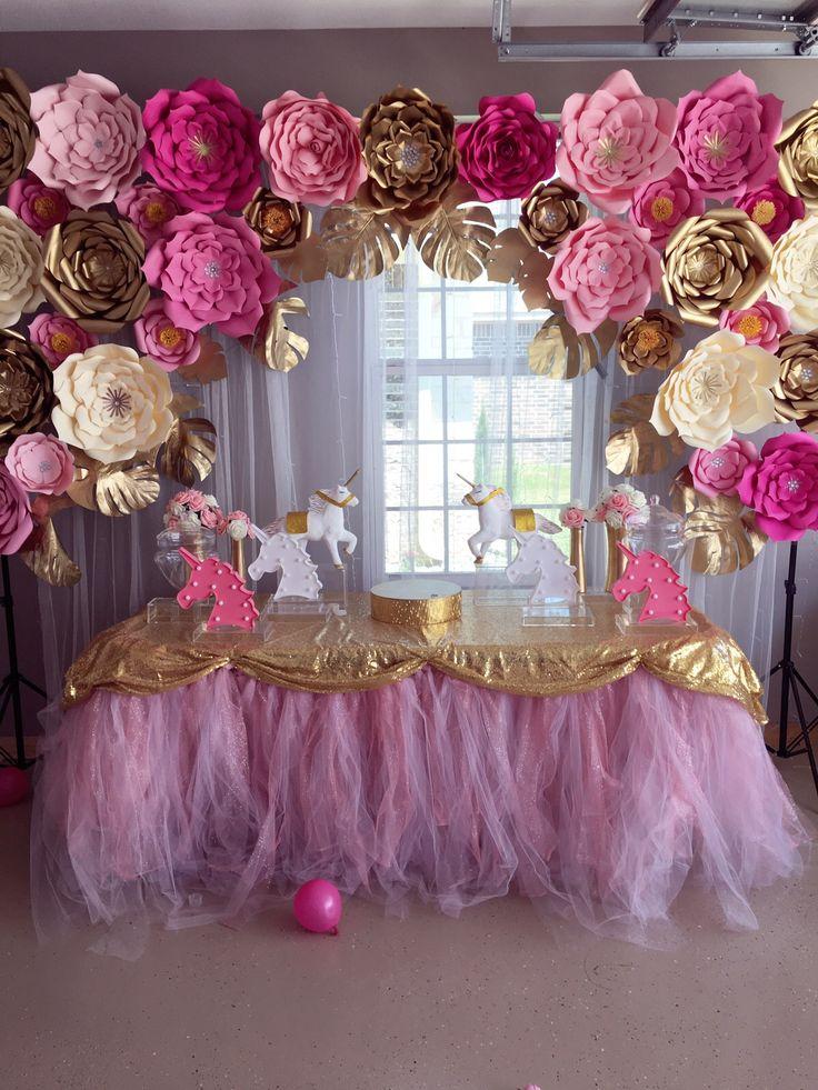 Pin De Maria En Unicornios En 2019 Baby Shower Princess