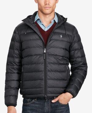 c0ce6bc56bf3 Polo Ralph Lauren Men s Packable Down Jacket - Black XXL