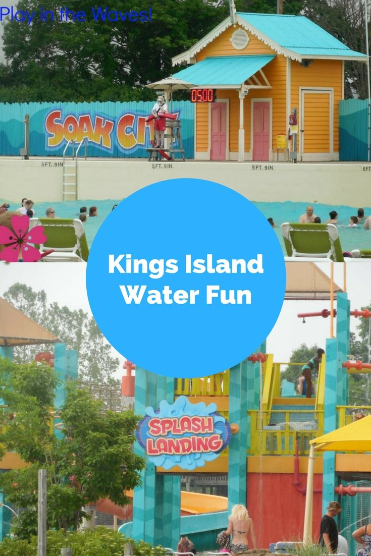 Take a Tropical Plunge at Kings Island If you love water parks, you've got to visit Kings Island. They've got water rides for all ages. It is a great place to visit when you travel in Ohio.