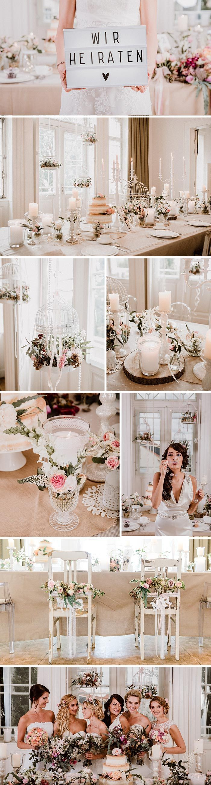 Decoration Ideas for the – Bridal Shoot in Winning Winery