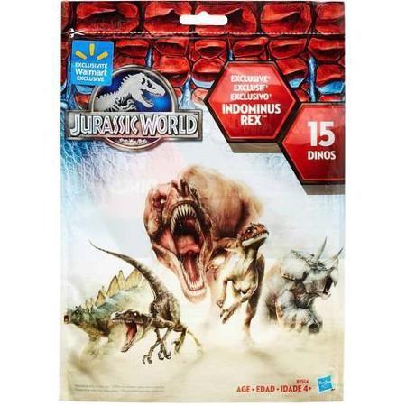 Jurassic World bag of dinos (15 mini figures) http://www.walmart.com/ip/45087373