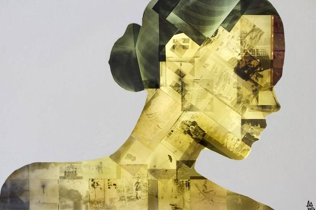 XChange by Nick Gentry Obsolete disks and discarded negatives make for startling portraits at Robert Fontaine Gallery