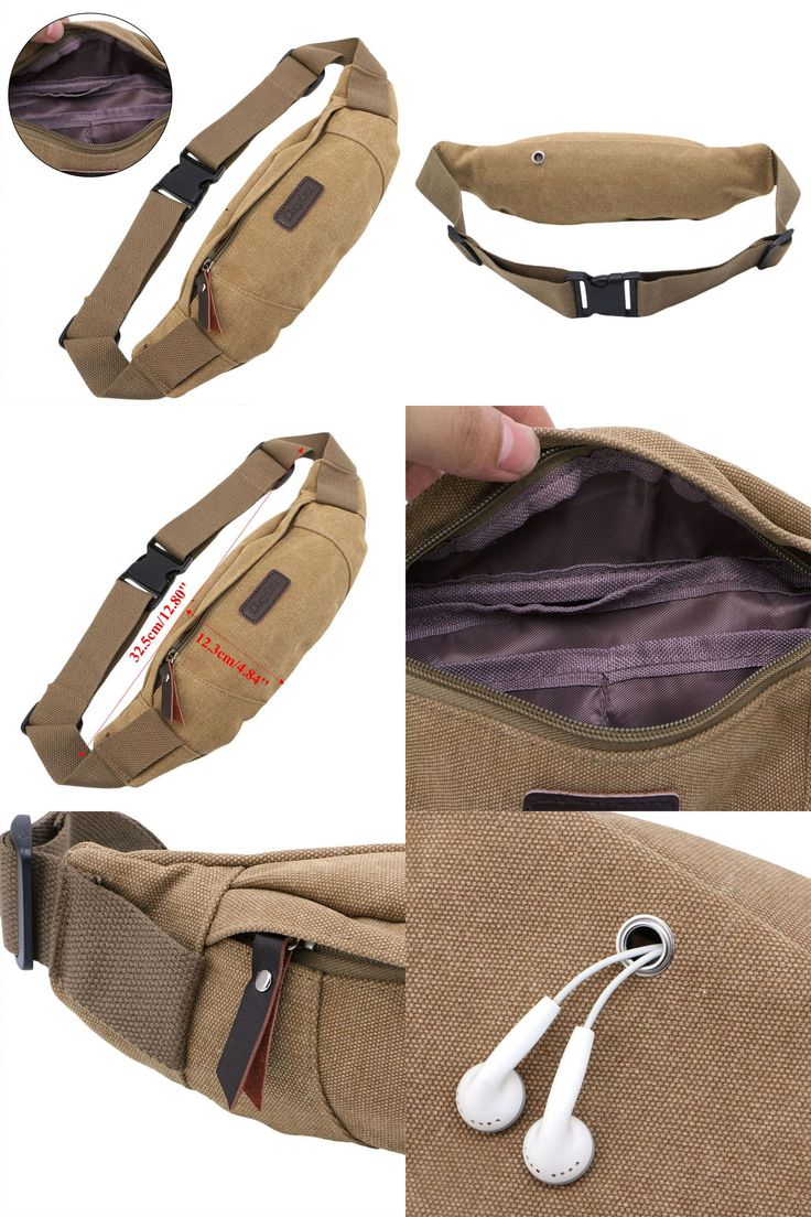[Visit to Buy] 1 pc Outdoor Sports Camping Waist Fanny Pack Bum Belt Bag Mens Pouch Travel Running #Advertisement
