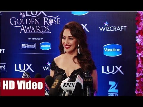 Madhuri dixit at the red carpet of Lux Golden Rose Awards 2016   Bollywood News Villa.  #madhuridixit #luxgoldenroseawards2016 #goldenroseawards2016 #goldenroseawards #bollywood #bollywoodnews #bollywoodgossips #news #gossips #bollywoodnewsvilla #awards #bollywoodawards