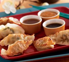 Pork and Spinach Potstickers