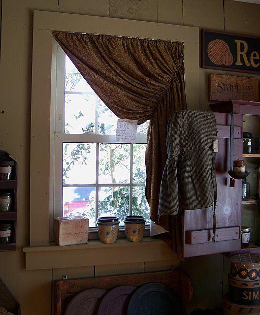 Circa 1892 Homestead Primitives: The Gingham Goose Shop Tour