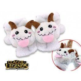 Poro Plush Gloves League of Legends $21.99