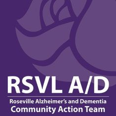 In September 2013, members of the Roseville community formed an alliance to work to improve conditions for Roseville individuals with Alzheimer's disease and other forms of dementia (A/D) and their unpaid caregivers.There are many dementia-related events each month. These items are arranged into three groups: Activities; Support Groups;  Educational and Community Events.