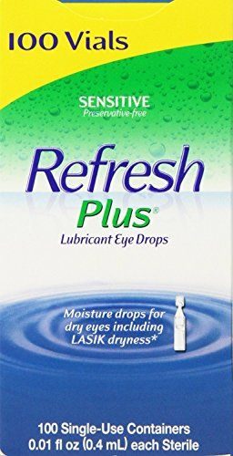 #onsale Value Size Moisture drops for dry eyes including LASIK dryness* Preservative-free The Easy Answer for Dry Eye Relief #Refresh Plus® Lubricant Eye Drops i...