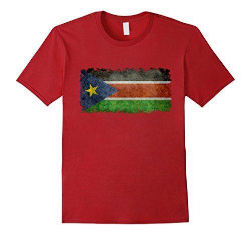 Men's South Sudan vintage flag T-Shirt 2XL Cranberry Lone... https://www.amazon.com/dp/B06XH3LY11/ref=cm_sw_r_pi_dp_x_W5ZWyb9D3Y1CZ #SouthSudanese #SouthSudaneseflag #Sudanese #Sudanesetee