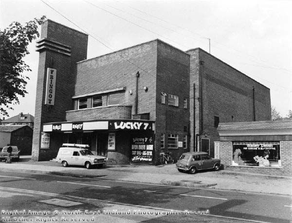 The Roxy Cinema, Ribblesdale Road, Daybrook, Arnold September 1976. This was my nearest cinema!