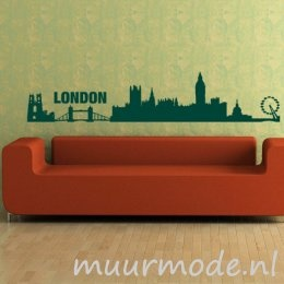 Dé stad van de Olympische Zomer Spelen - Interieursticker Skyline Londen
