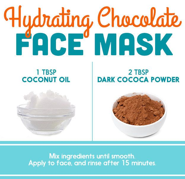 Coconut Oil + Cocoa Powder   Here's What Dermatologists Said About Those DIY Pinterest Face Masks