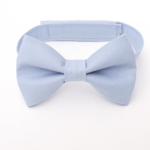 Blue Bow Tie and Suspenders: Boy's Blue Bow Tie by TheBoytique