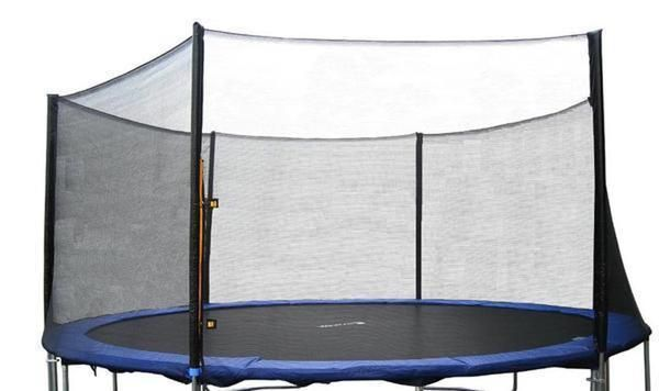 Round 16ft Trampoline Outer Safety Black Net Enclosure 6180-N016