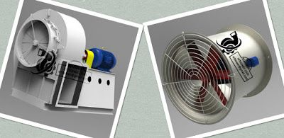 Xianrun Blower---Industrial Fans And Blowers, Centrifugal Fan, Axial Fan: Centrifugal Fan VS Axial Flow Fan  Part One ---Dif...