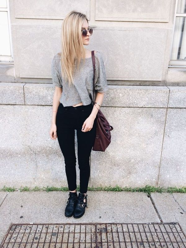 Attractive College Outfits For Girls (13)