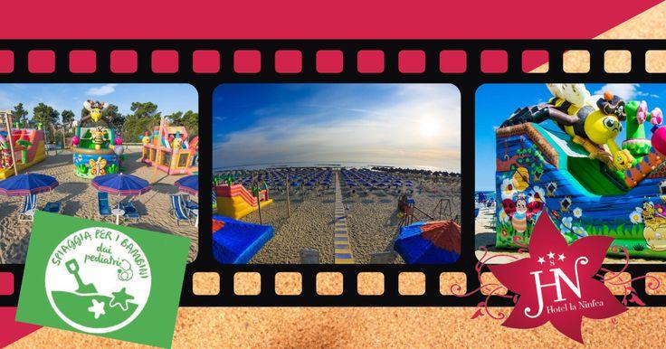 Sei alla ricerca di una spiaggia tranquilla e alla portata dei più piccoli? Montesilvano anche quest'anno ha ricevuto la Bandiera Verde per le spiagge a misura di bambino... All'Hotel la Ninfea tantissime attività per tutti i bimbi e tanto tanto divertimento... Prenota subito la tua vacanza estiva...Richiedi un preventivo gratuito online oppure allo 0854491453! Noi vi aspettiamo... #hotellaninfea #estate2017 #bandieraverde #spiaggiaperbambini #abruzzo #pescara #montesilvano