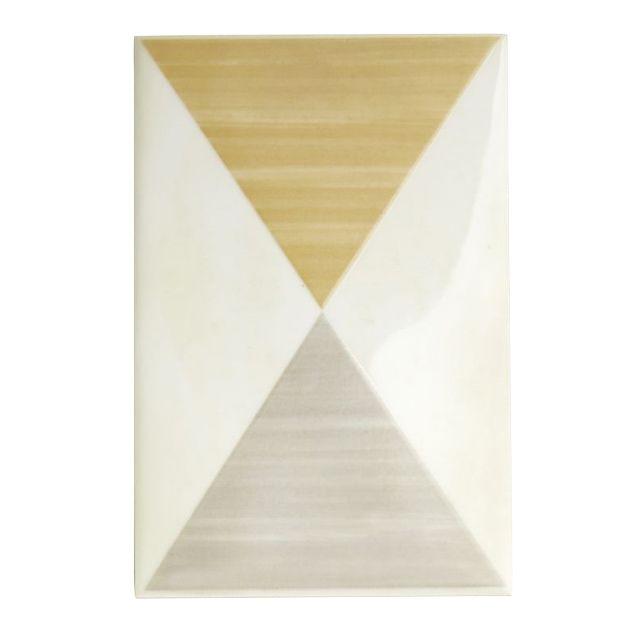 Décor mural triangle 12 x 18 cm 1874 - CASTORAMA