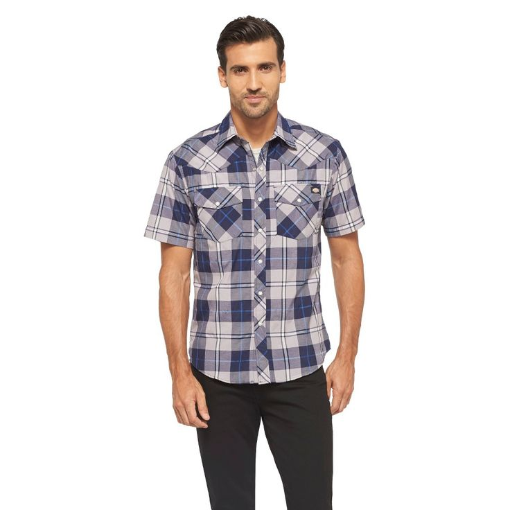 Dickies Men's Classic Fit Shirt - Evening Blue
