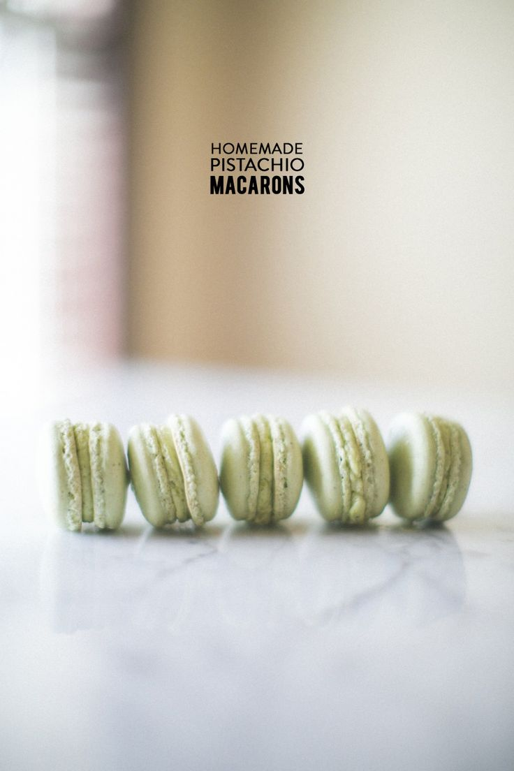yummy pistachio macarons #recipe | Photography: Matthew Land Studios - www.matthewland.com  Read More: http://www.stylemepretty.com/living/2014/04/18/pistachio-macarons/