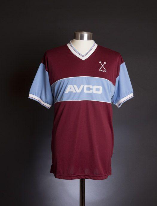 West Ham United 1983 shirt