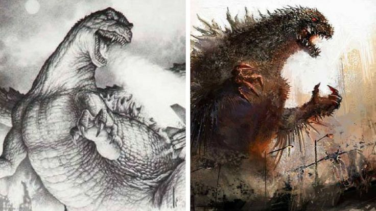 Godzilla is the ultimate fictional monster. Everybody knows about him and a lot of movies and godzilla fan art was created over the years and if he was real #godzilla #art