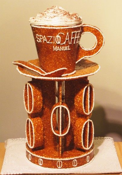 Spazio Caffe - Manuel - Decoration at #V3con #desserts #brittle