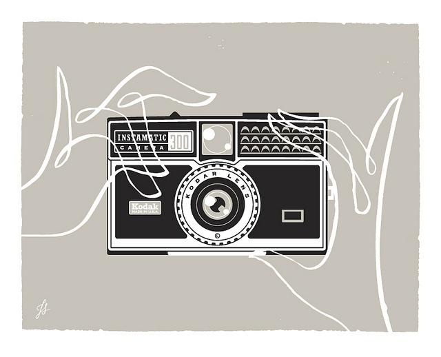 Kodak 300 instamatic by jeremyslagle, via Flickr