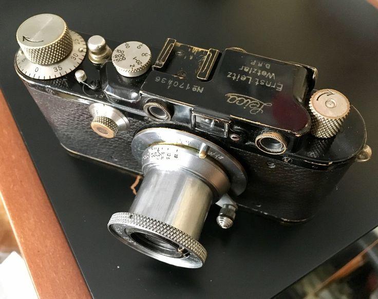 Leica IIIF 1935 Elmar 5cm