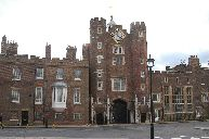The offices of Princes William and Harry  St. James's Palace is a senior Palace of the Sovereign.