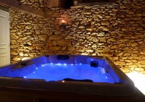 Magnifique Gite avec terrasse privative agrémentée du0027un spa privatif - Gites De France Avec Piscine Interieure