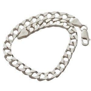 Zincir modelli,ıtal treslı,925 ayar gümüş erkek bileklik