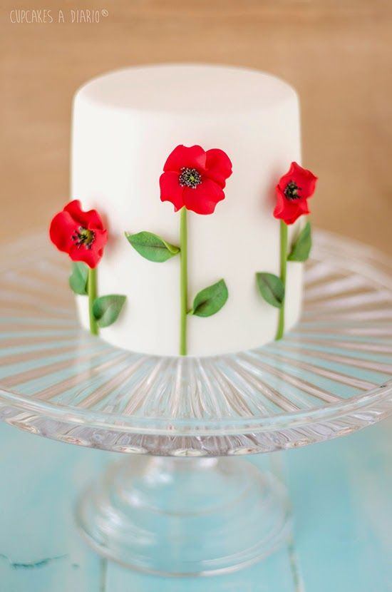 Mini cake - For all your cake decorating supplies, please visit craftcompany.co.uk