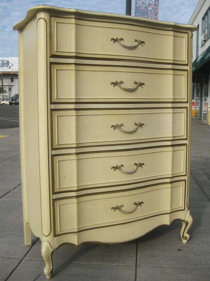 UHURU FURNITURE U0026 COLLECTIBLES: SOLD   French Provincial Chest Of .