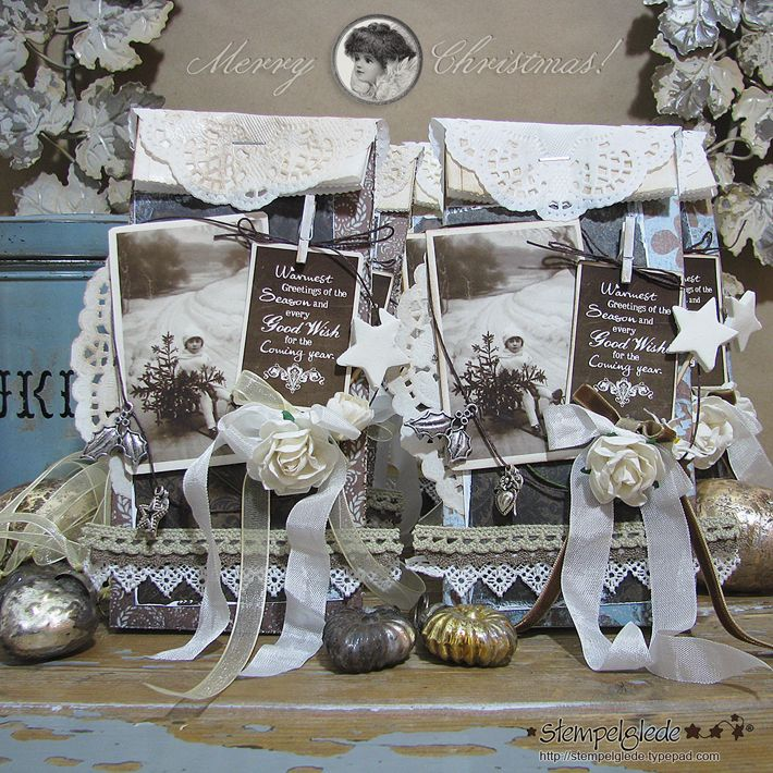 Christmas Gift Bag - Gunhild J. G. Bay - Stempelglede :: Design Team Blog
