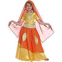 Disfraz de princesa Bollywood para niña