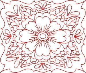 Flower Quilt Blocks - Embroidery Delight | OregonPatchWorks