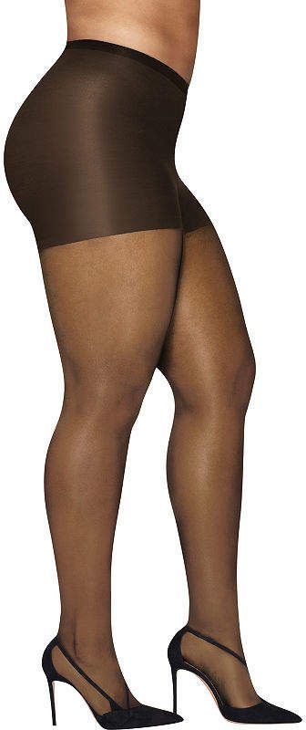 2c7b2c13095 Hanes Silky Sheer Tights-Plus  Silky Hanes Tights